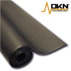DKN dämpfende Gerätematten für Vibrationsplatten, Heimtrainer, Ergometer und Laufbänder (200 x 100 c