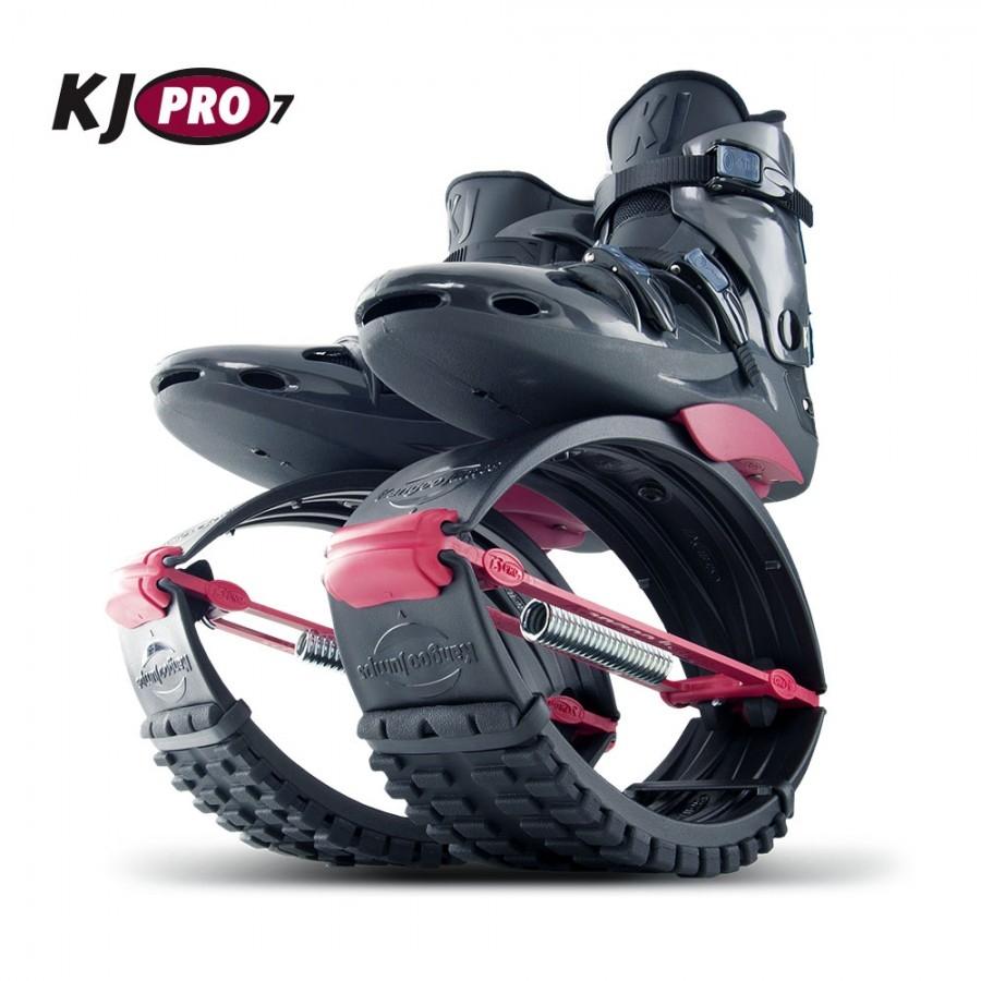 KangooJumps : KJ-Pro7 mit extra harter Federung Farbe: schwarz/rot Grösse 39 bis 41 [M]