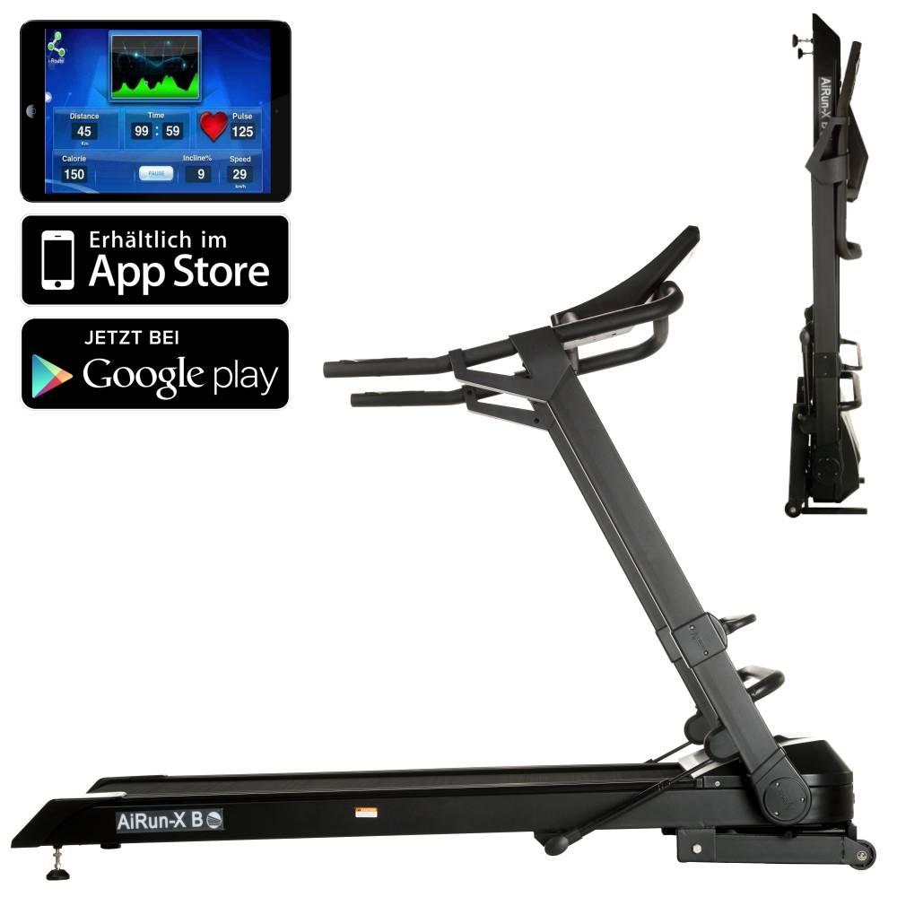 Laufband DKN AiRun X: Die ultrakompakte Laufbahn mit iPad und Android-Connection